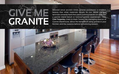 Give Me Granite
