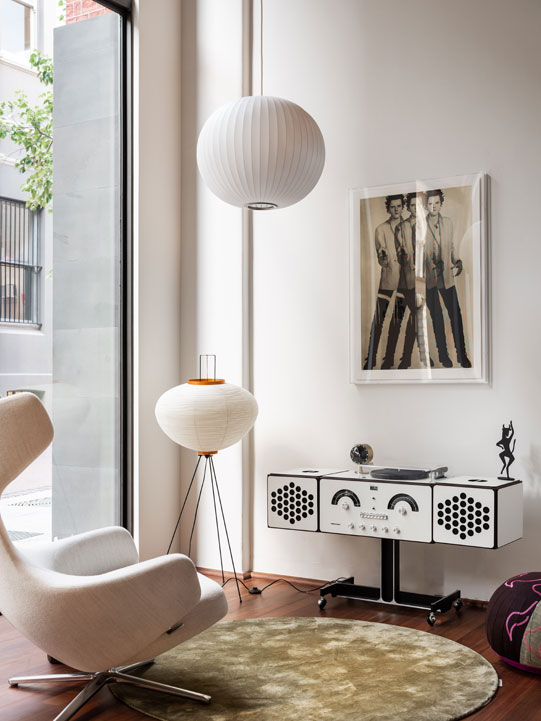 Living Edge's new Perth showroom Hassell Perth interior decor furniture designer pieces